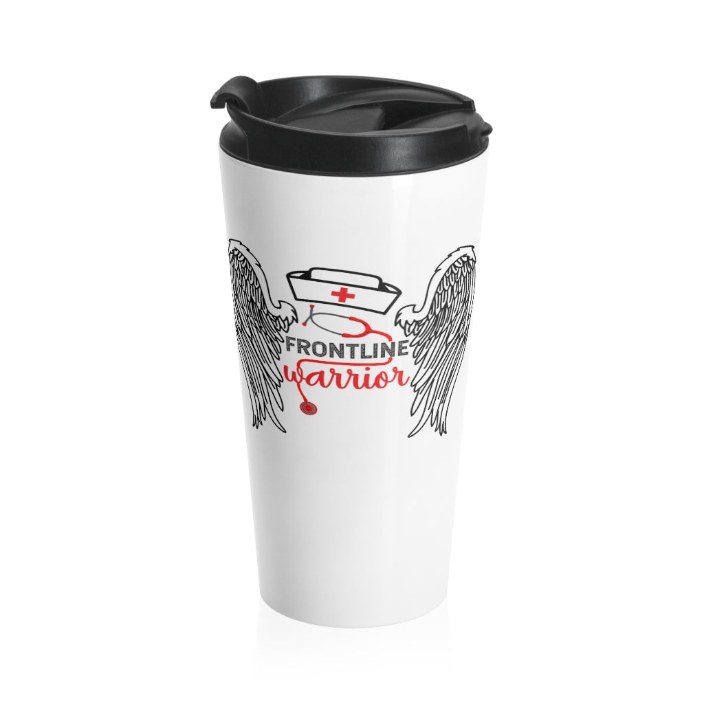 Frontline Warrior Stainless Steel Travel Mug