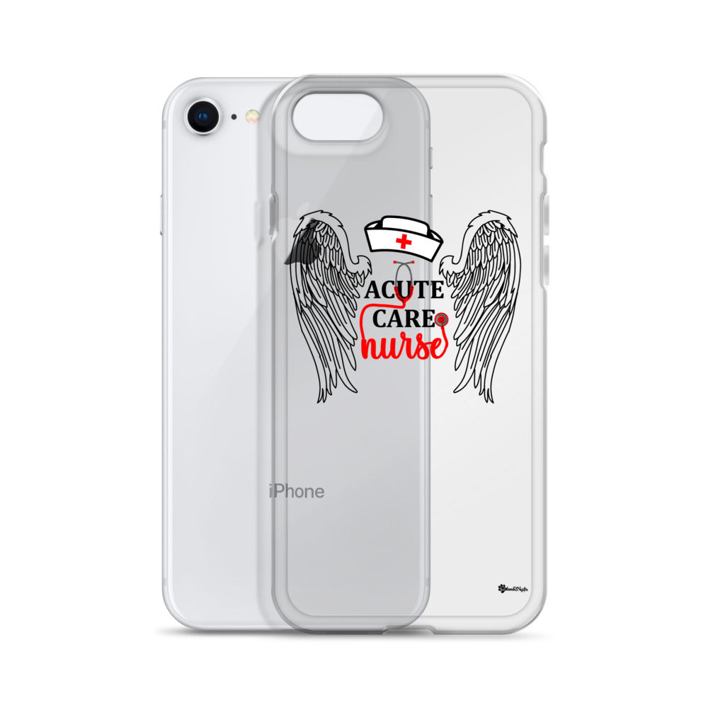 Acute Care Nurse iPhone Case