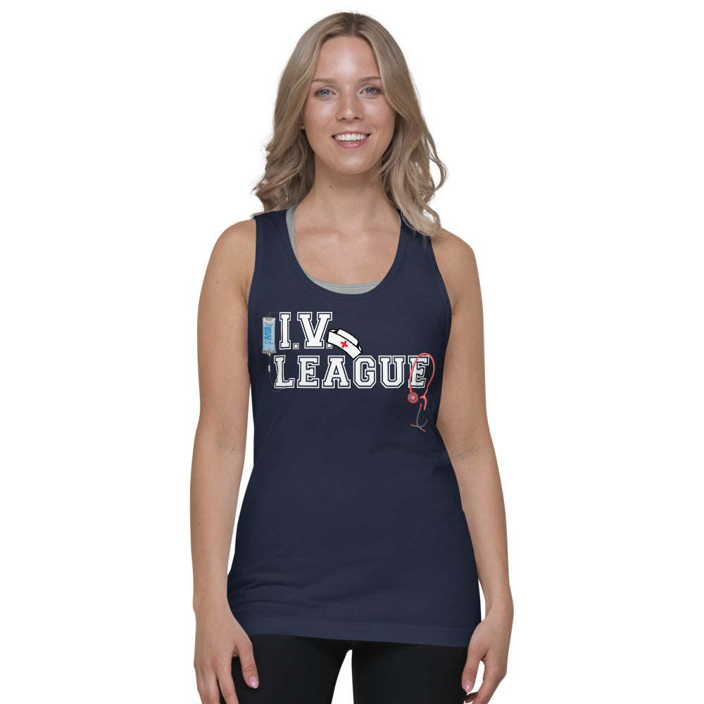 I.V. League Nurse Unisex Tank Top
