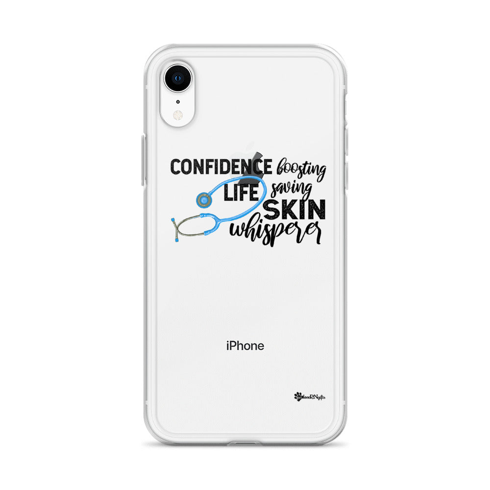 Confidence Boosting Life Saving Skin Whisperer iPhone Case