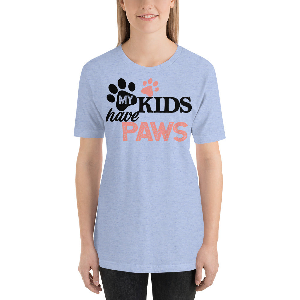 My Kids Have Paws Unisex T-Shirt