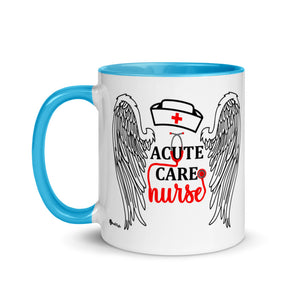 Acute Care Nurse Mug with Vibrant Color Inside
