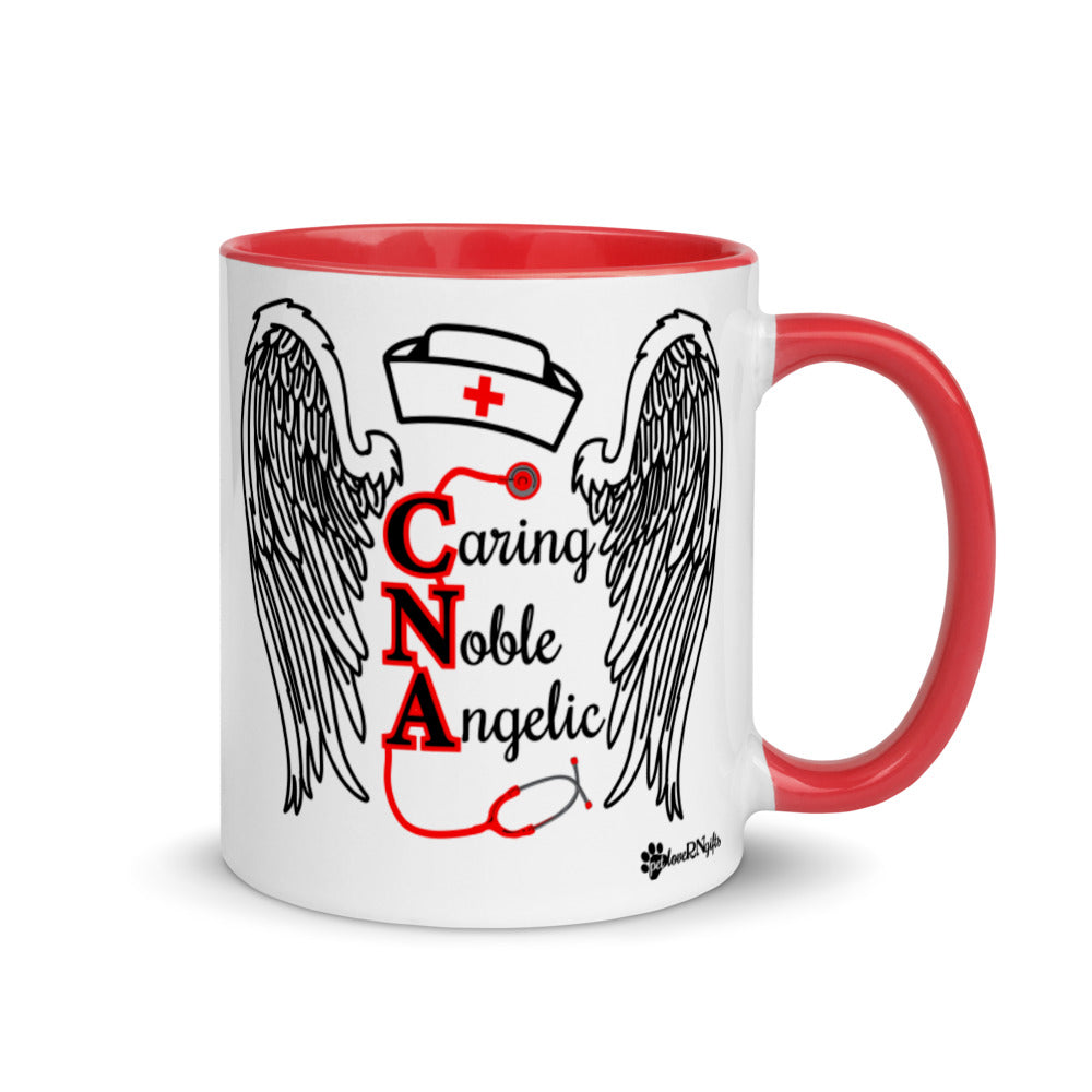CNA Caring Noble Angelic Mug with Vibrant Color Inside