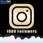 Instagram - Premium 1000 followers - SociJet