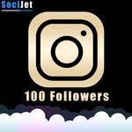 INSTAGRAM - PREMIUM 100 FOLLOWERS - SociJet