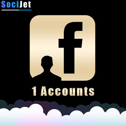 FB 1 ACCOUNT | VERIFIED BY E-MAIL - SociJet