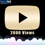 Youtube - Premium 2000 Views - SociJet