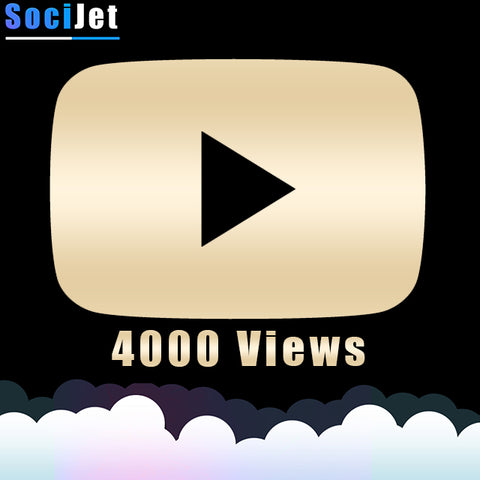 Youtube - Premium 4000 Views - SociJet