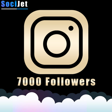 INSTAGRAM - PREMIUM 7000 FOLLOWERS - SociJet
