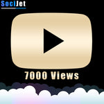 Youtube - Premium 7000 Views - SociJet