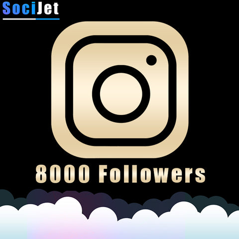 INSTAGRAM - PREMIUM 8000 FOLLOWERS - SociJet