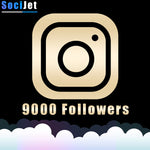 INSTAGRAM - PREMIUM 9000 FOLLOWERS - SociJet