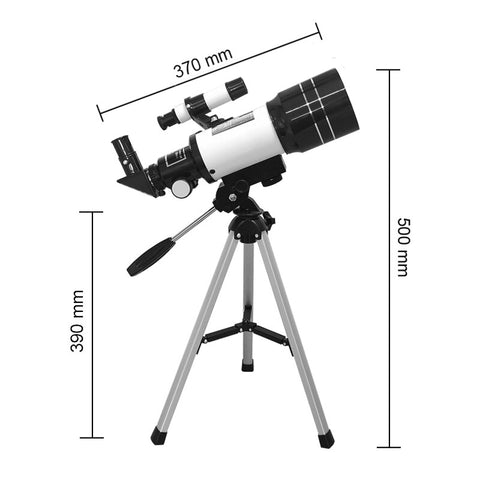 telescope dimension