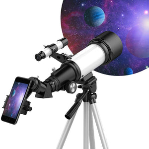 telescope with mobile phone holder / adaptor