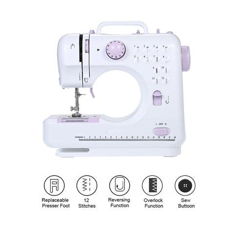 portable beginners sewing machine