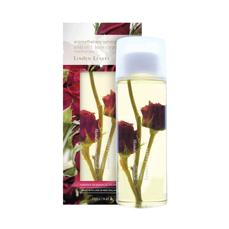 linden leaves body oil