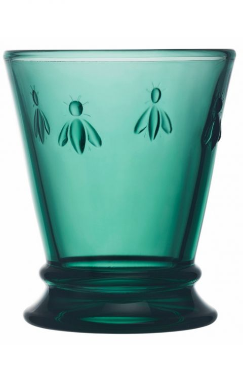 Bee tumbler short dark green