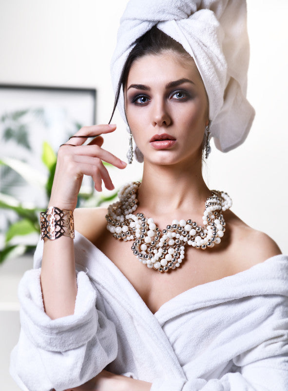 Can I wear my jewellery in the shower?