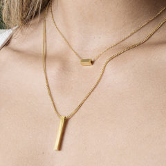 Petite Bar Necklace