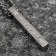 Men's Bar Necklace