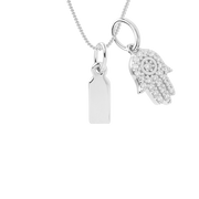 Keepsake Small Tag Necklace