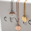 Petite Initials - Small Letter Necklace
