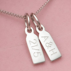 Keepsake Small Tag Duo Necklace