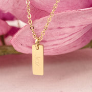Small Tag Necklace