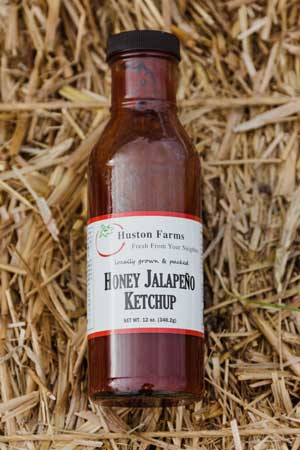HUSTON FARMS JALAPEÑO KETCHUP