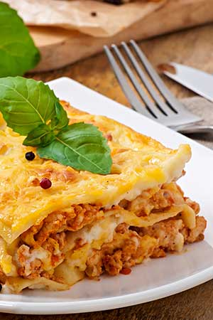 CHEF ALFONSO'S MEAT & CHEESE LASAGNA
