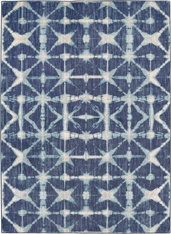 Karastan Expressions Triangle Accordion Indigo By Scott Living