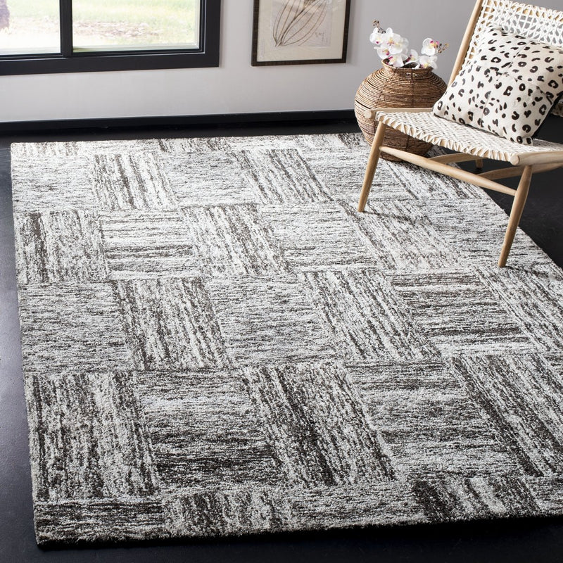 Safavieh Rugs Abstract ABT601A Ivory | Charcoal