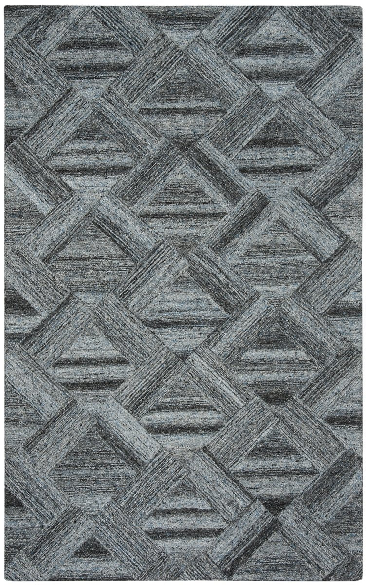 Safavieh Rugs Abstract ABT607M Blue | Black
