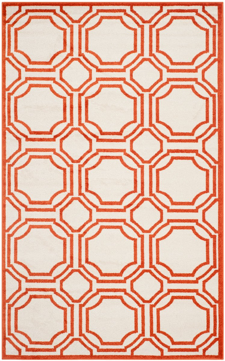 Safavieh Rugs Amherst AMT411F Ivory | Orange