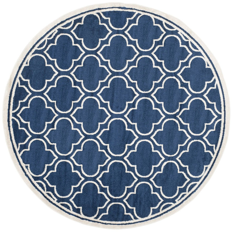 Safavieh Rugs Amherst AMT412P Navy | Ivory