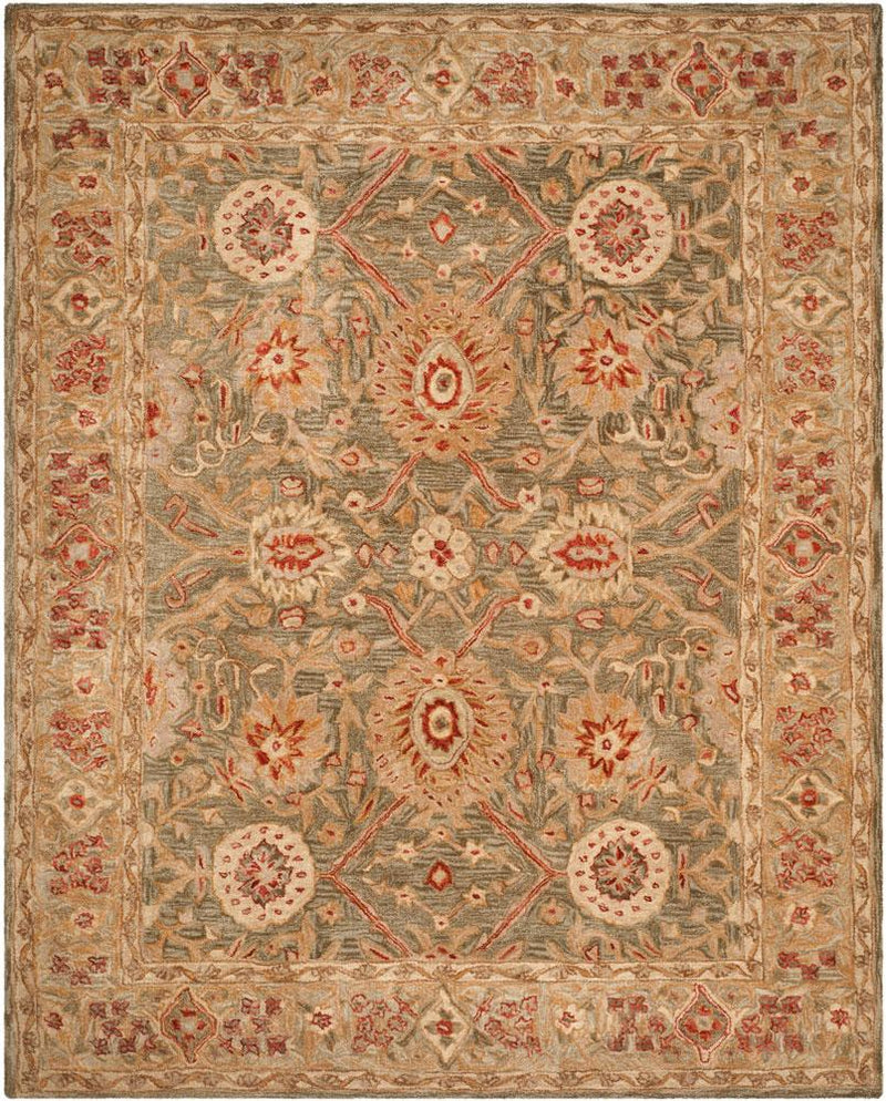 Safavieh Rugs Anatolia AN516A Brown | Ivory