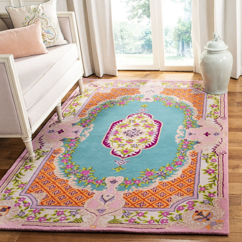 Safavieh Rugs Bellagio BLG535M Blue | Pink