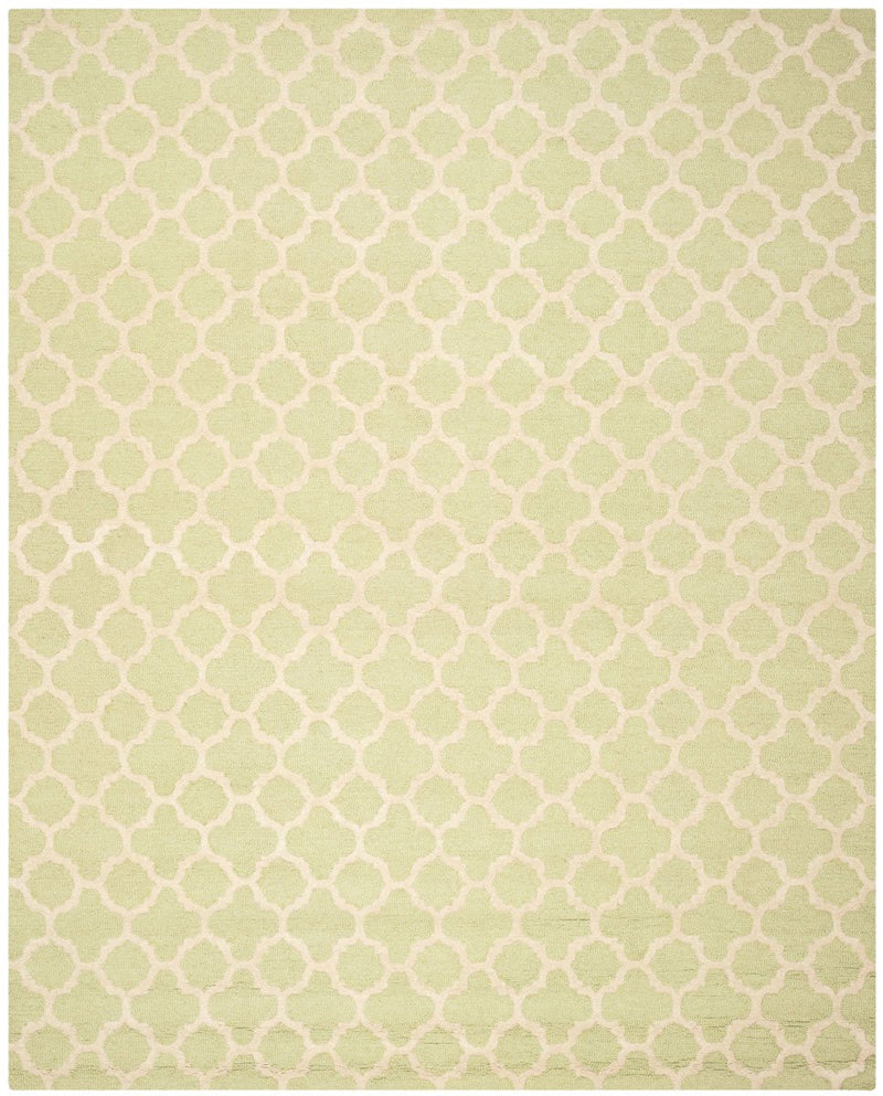 Safavieh Rugs Cambridge CAM130B Light Green | Ivory