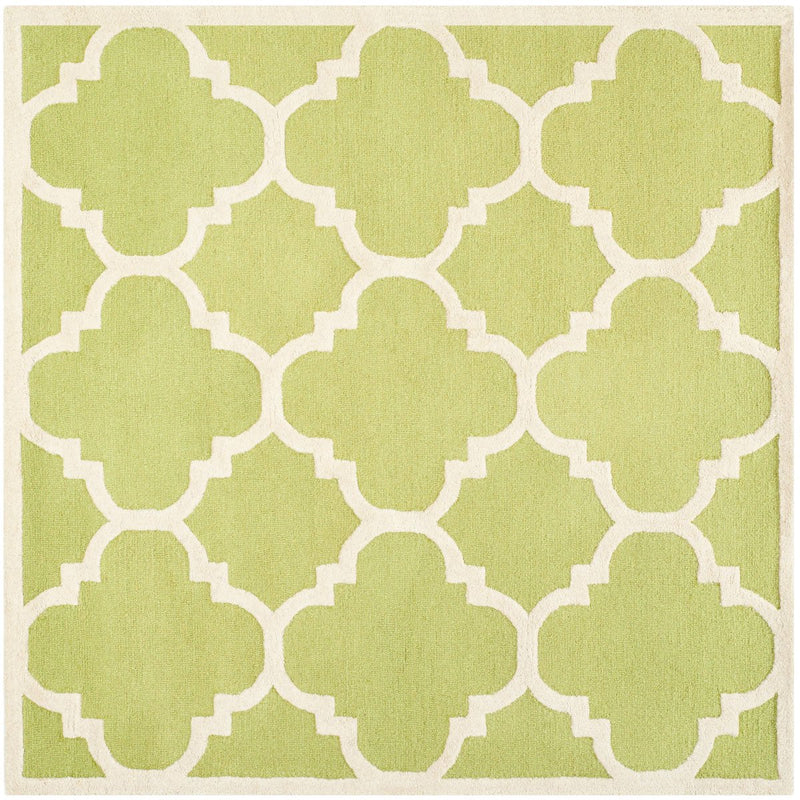 Safavieh Rugs Cambridge CAM140T Green | Ivory
