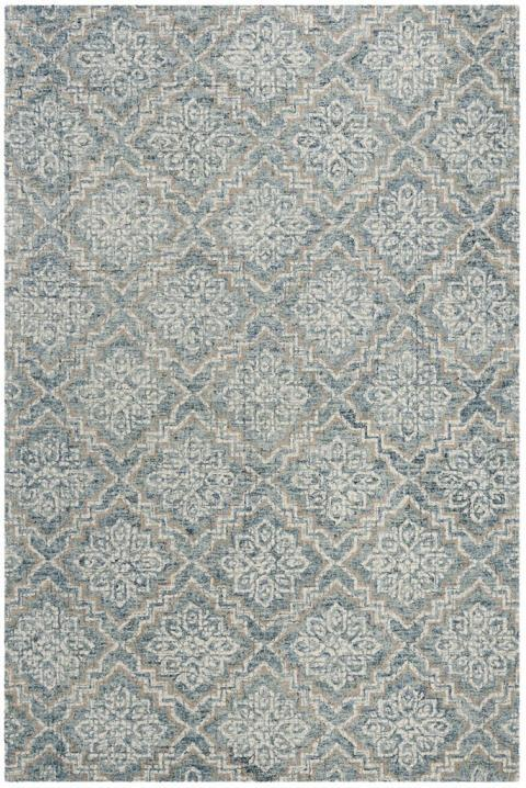 Safavieh Rugs Abstract ABT201A Blue | Grey
