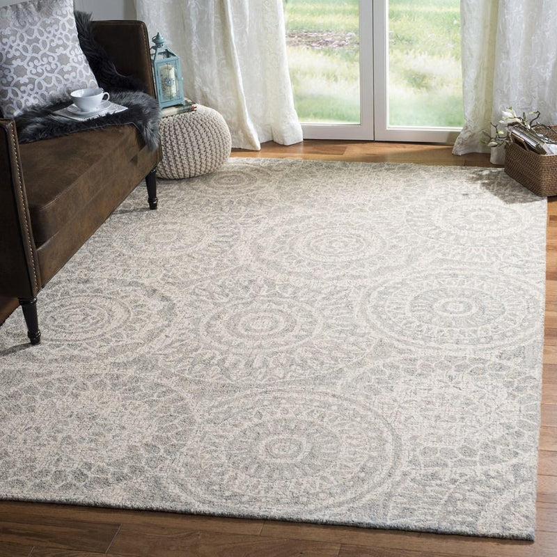 Safavieh Rugs Abstract ABT205B Ivory | Grey