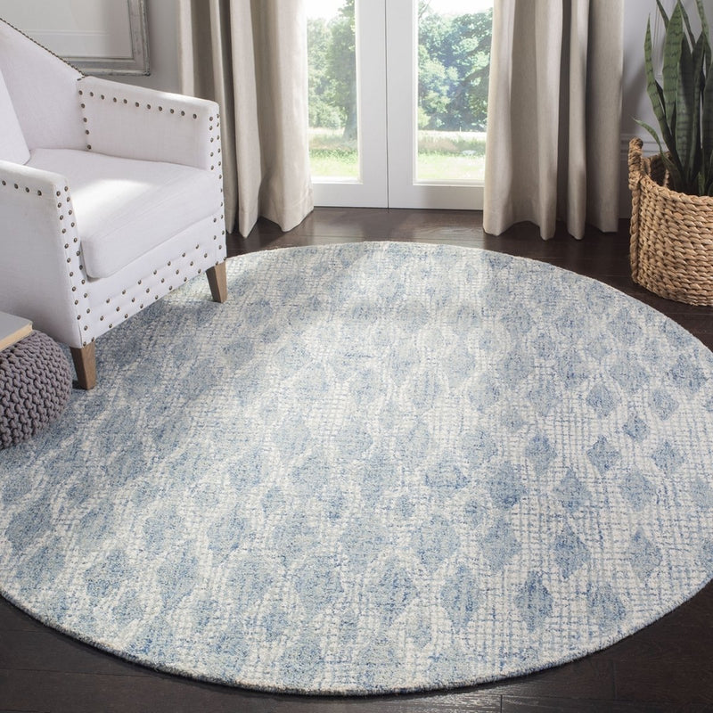 Safavieh Rugs Abstract ABT206A Ivory | Blue