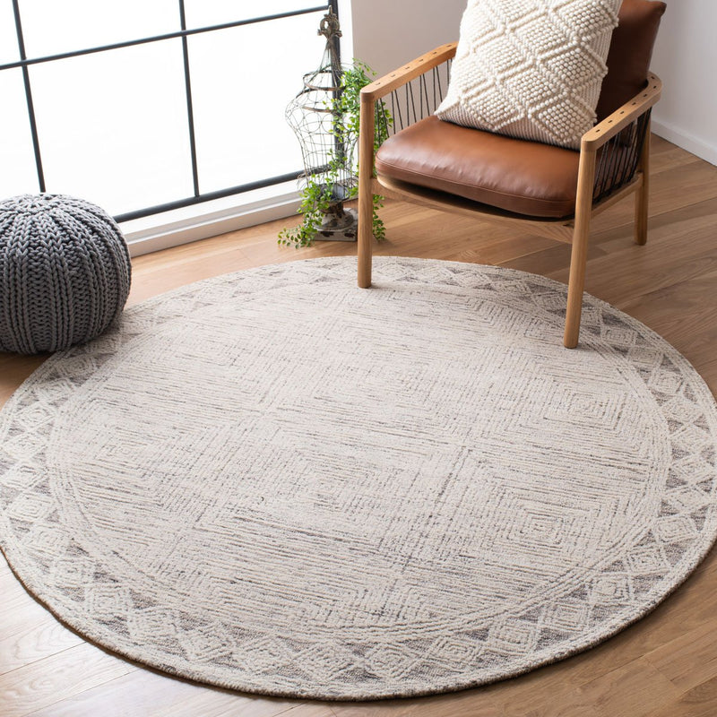 Safavieh Rugs Abstract ABT349F Ivory | Grey