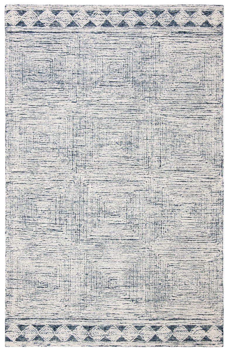 Safavieh Rugs Abstract ABT349N Ivory | Navy