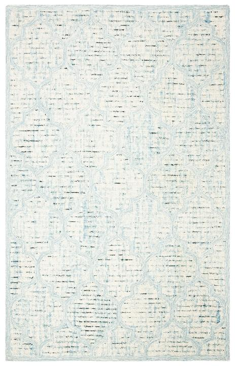Safavieh Rugs Abstract ABT474K Ivory | Turquoise