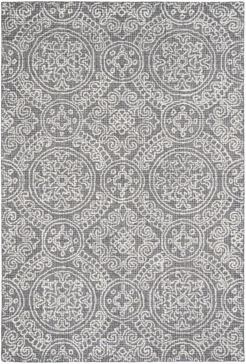 Safavieh Rugs Abstract ABT522A Grey | Ivory