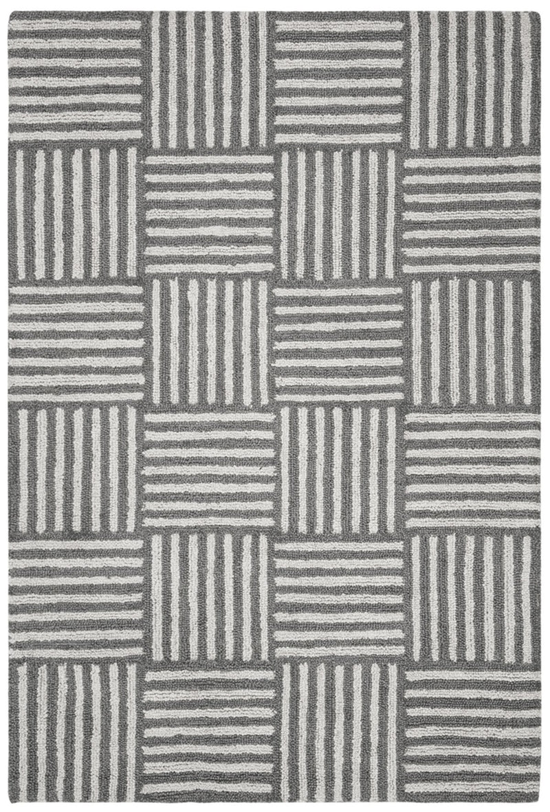 Safavieh Rugs Abstract ABT602A Ivory | Dark Grey