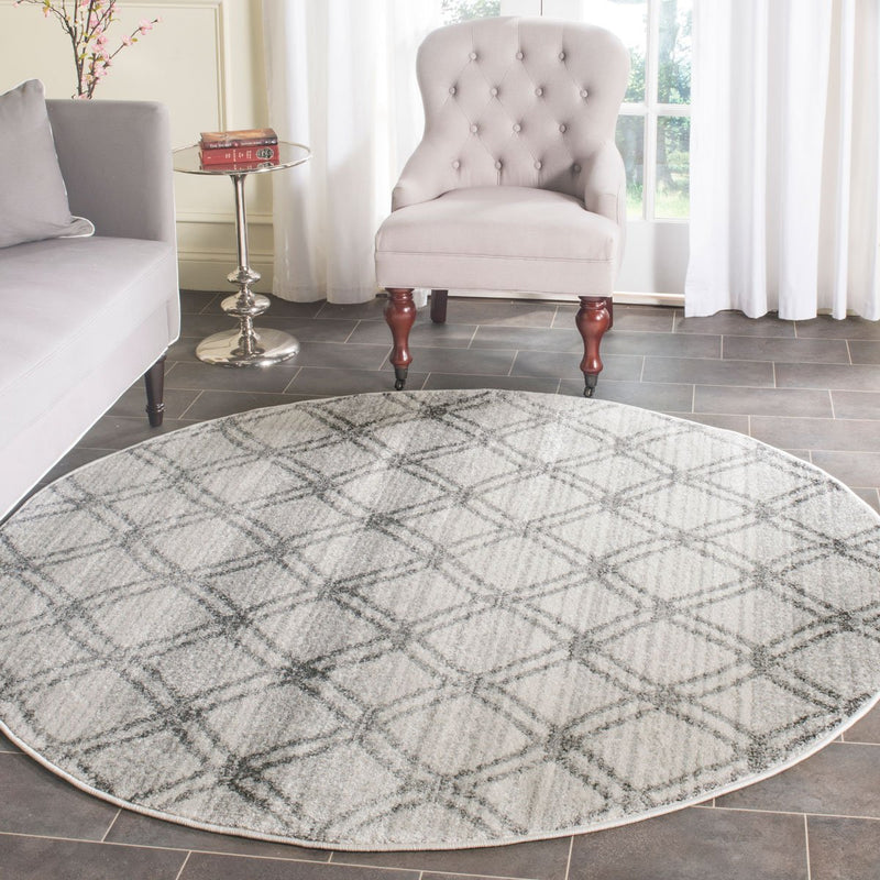 Safavieh Rugs Adirondack ADR105P Silver | Charcoal