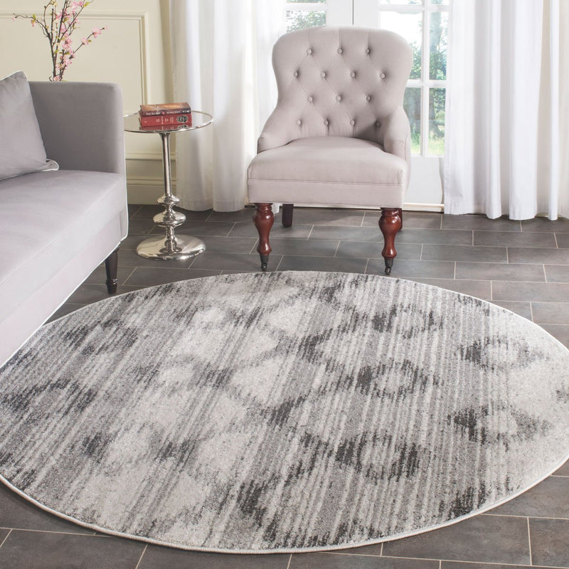 Safavieh Rugs Adirondack ADR106P Silver | Charcoal