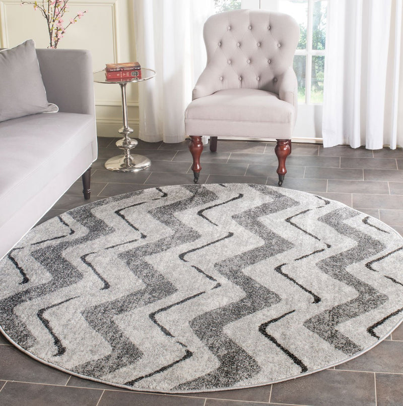 Safavieh Rugs Adirondack ADR121P Silver | Charcoal